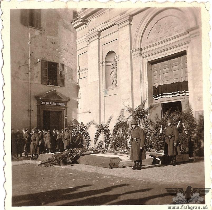 Slovenskí vojaci v Taliansku