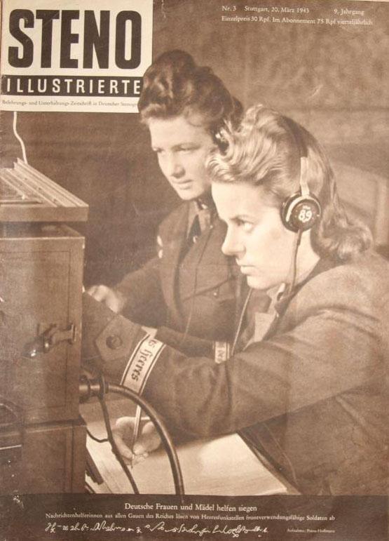Nachrichtenhelferin des Heeres - Blitzmädels