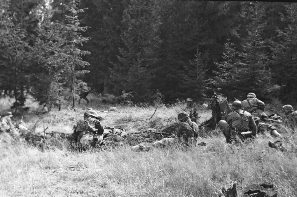 Rekonštrukcia bojov v skanzene Pribylina