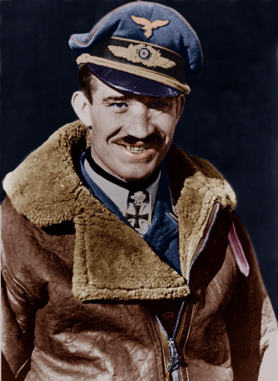 Najmladší nemecký generál Adolf Galland