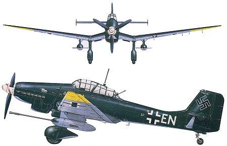 Junkers JU- 87 Stuka