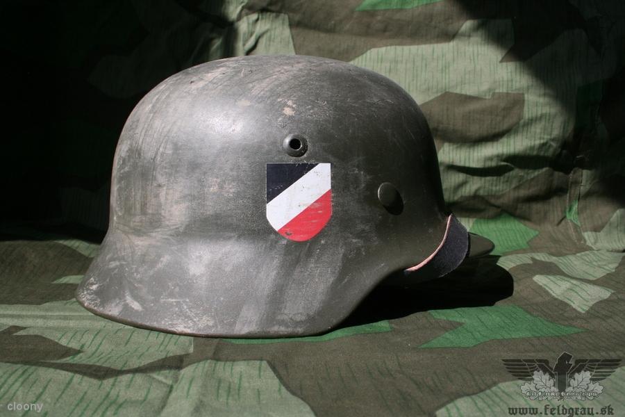 Nemecké helmy počas ww2